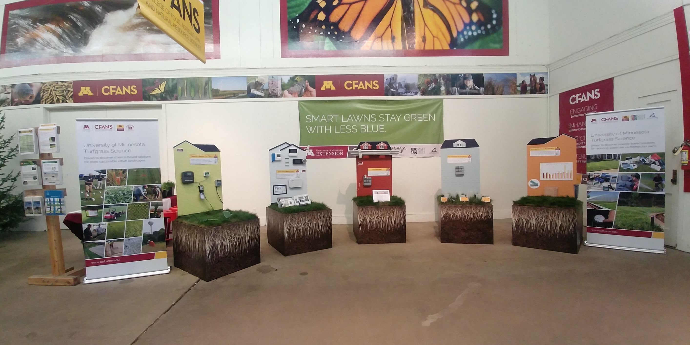 Water conservation display at the Minnesota State Fair